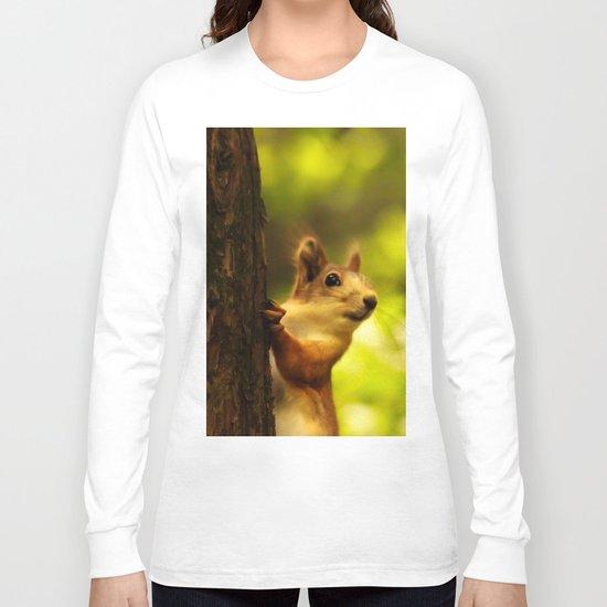 Did you say something? Long Sleeve T-shirt