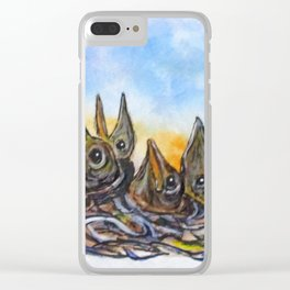 Feed Me Clear iPhone Case