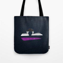 Asexual Pride Flag Libra Zodiac Sign Tote Bag