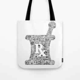 Pharmacy, pharmacy sign, medical, medicine, doctor gift: PANACEA Tote Bag