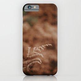 Farmhouse Dried Grass iPhone Case