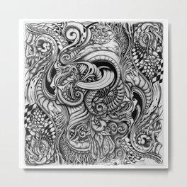 Yinyang. Metal Print