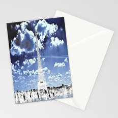Tower Tourists in Reverse Stationery Cards