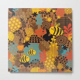 The bee. Metal Print