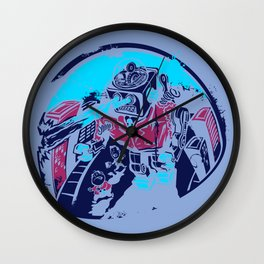 Mechanical Mayhem Wall Clock