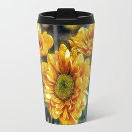 Sunny Flowers Travel Mug