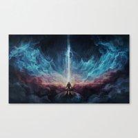 interstellar Canvas Prints featuring Interstellar by jasric
