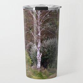 AUTUMNAL BIRCH FOREST Travel Mug