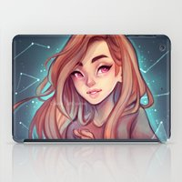 constellations iPad Cases featuring Constellations by Cyarin