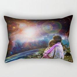 Woodstock Love Vibrant Rectangular Pillow