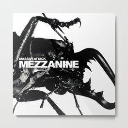MASSIVE ATTACK MEZZANINE TOUR DATES 2019 BAKWAN Metal Print