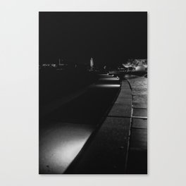 The Lonely City Canvas Print