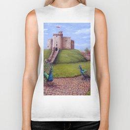 Cardiff Castle Keep Biker Tank