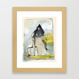 Bad Kreuznach historical 2 Framed Art Print