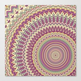 Mandala 121 Canvas Print