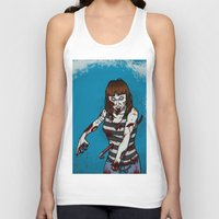 dana scully Tank Tops featuring Dana by ZOMBIFIED