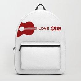 I love music #society6 #decor #buyart #artprint Backpack