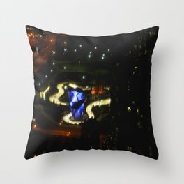 Ribbon of Ice (Chicago Architecture Society) Throw Pillow