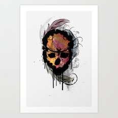 destroyed Art Print