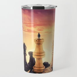 the rise of a chess player Travel Mug