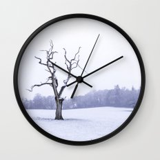Portrait of a Tree Wall Clock