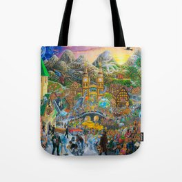 Magical Mystery Tour Color Edit Tote Bag