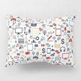 Icon pattern Pillow Sham