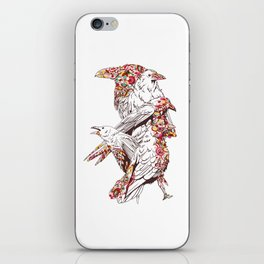 Colorful Crows iPhone Skin