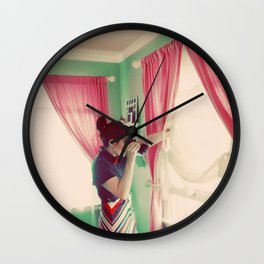 Before the Voyage Wall Clock