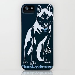 Husky forever iPhone Case