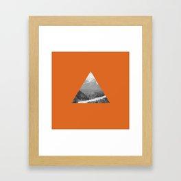 The Triangle Framed Art Print
