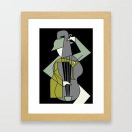 Music&alcohol Framed Art Print
