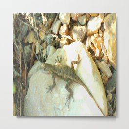 Almost Camouflaged  Metal Print