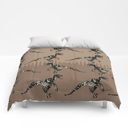 ChocoPaleo: Velociraptor Comforters
