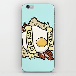 Over Easy Forever iPhone Skin