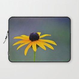 Lone Yellow Flower Laptop Sleeve