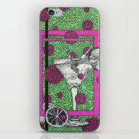 drink iPhone & iPod Skins featuring Drink by Aimee Alexander
