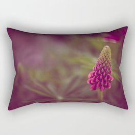Pink Flow Rectangular Pillow
