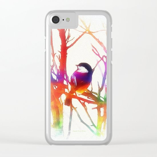 Color VII Clear iPhone Case