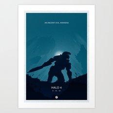 Halo 4 Poster 3 Art Print