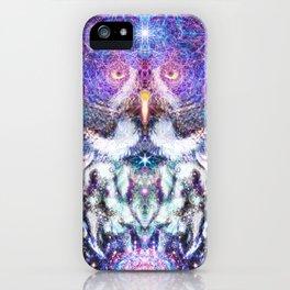 Cosmic Owl iPhone Case