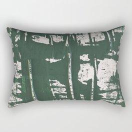 NYC Walls (zelen) Rectangular Pillow