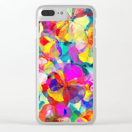 Flower carpet(56) Clear iPhone Case
