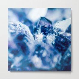 amethyst blue Metal Print