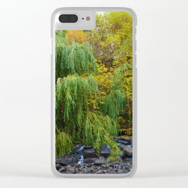 Weeping Willow Tree in Revelstoke BC, Canada Clear iPhone Case