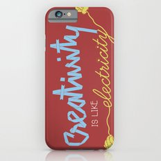 creativity is like electricity Slim Case iPhone 6s