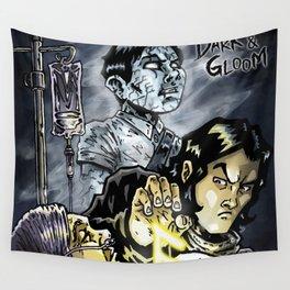 Dark & Gloom - Something is Stirring Wall Tapestry