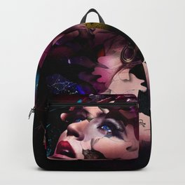WOMAN-FACE-ART Backpack