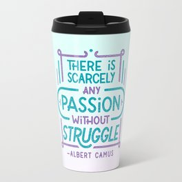 Camus on Passion Travel Mug