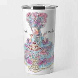 Marie Antoinette: Eat Cake Travel Mug